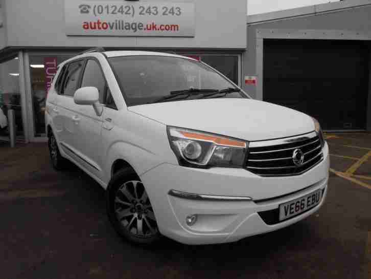 2016 SsangYong Turismo 2.2 ELX PLUS 5dr Tip Auto 4WD 3 2 1 OFFER 5 door MPV