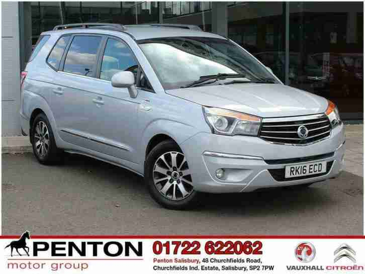 2016 SsangYong Turismo 2.2 TD ELX 4x4 5dr