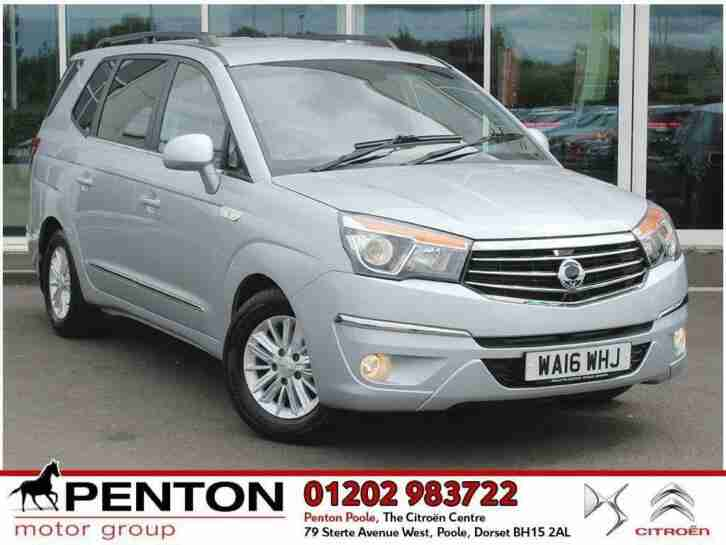 Ssangyong Turismo. Ssangyong car from United Kingdom