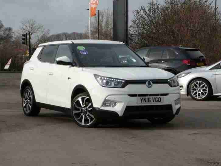 2016 Ssangyong Tivoli 1.6 TD ELX SUV 5dr Diesel Automatic 4x4 (156 g km,