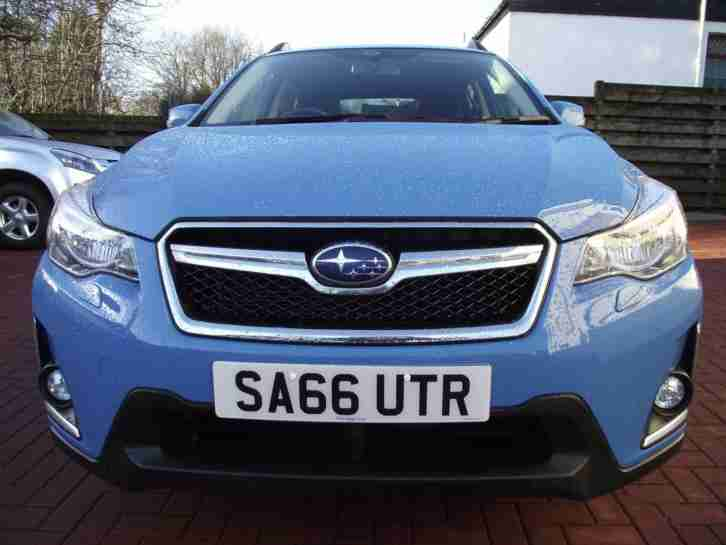 2016 Subaru XV I SE Petrol blue Manual
