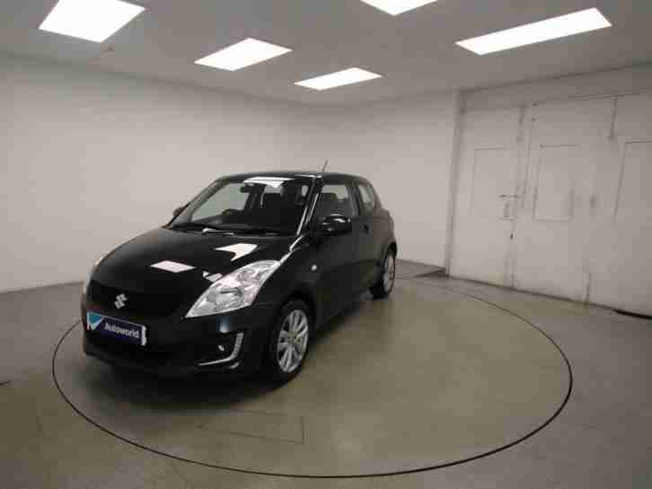 2016 Suzuki Swift 3dr Hat 1.2 SZ3 MT (Euro 6) Petrol black Manual