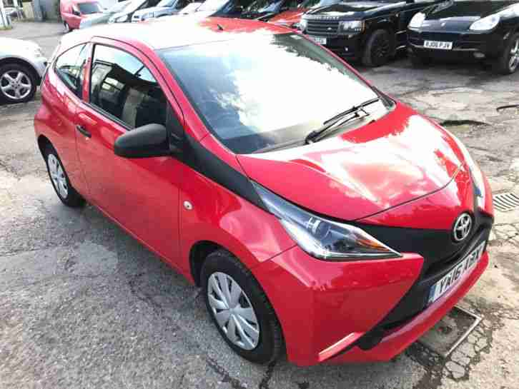 toyota 2016 aygo x vvt i only 741 miles basically brand new cat d. Black Bedroom Furniture Sets. Home Design Ideas