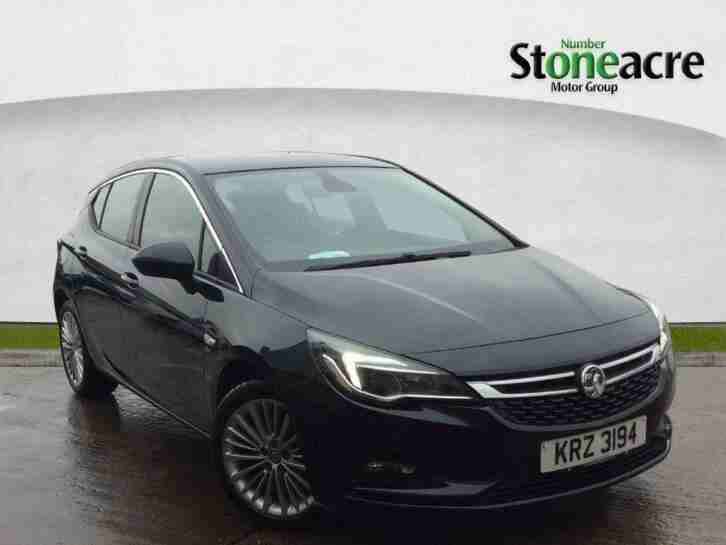 2016 Vauxhall Astra 1.6 CDTi BlueInjection Elite Hatchback 5dr Diesel (s s)