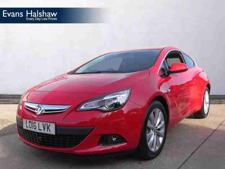 2016 vauxhall astra gtc sri cdti s s diesel manual car for sale. Black Bedroom Furniture Sets. Home Design Ideas