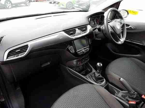 2016 Vauxhall Corsa 1.4 [75] Energy 5dr [AC] Petrol black Manual