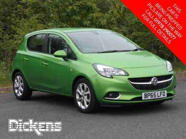 2016 Vauxhall Corsa SRI ECOFLEX Petrol green Manual
