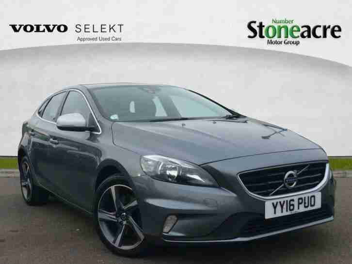2016 Volvo V40 D2 [120] R DESIGN 5dr Hatchback Diesel Manual