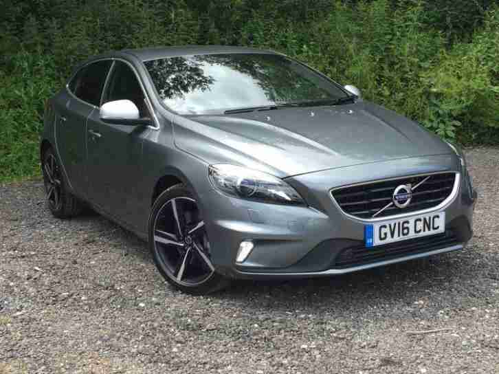 Volvo V40. Volvo car from United Kingdom