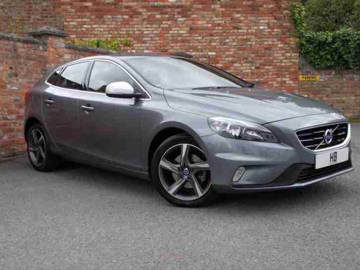 2016 Volvo V40 Hatch 5Dr 2.0T2 122 SS EU6 R DESIGN Nav 6Spd Petrol grey Manual