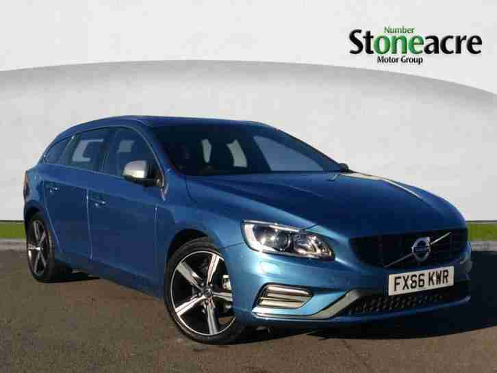 2016 Volvo V60 2.0 TD D3 R Design Lux Nav Estate 5dr Diesel Manual