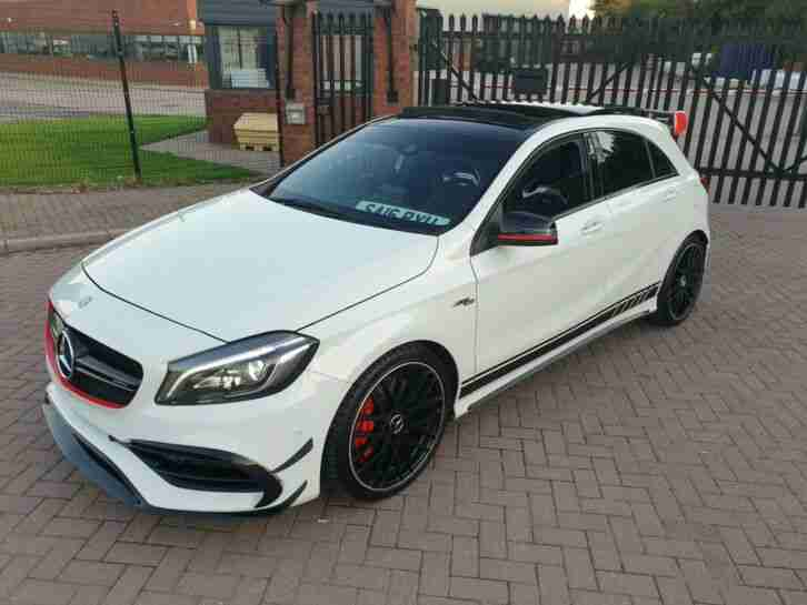2016 WHITE MERCEDES BENZ A45 AMG 4MATIC AUTO