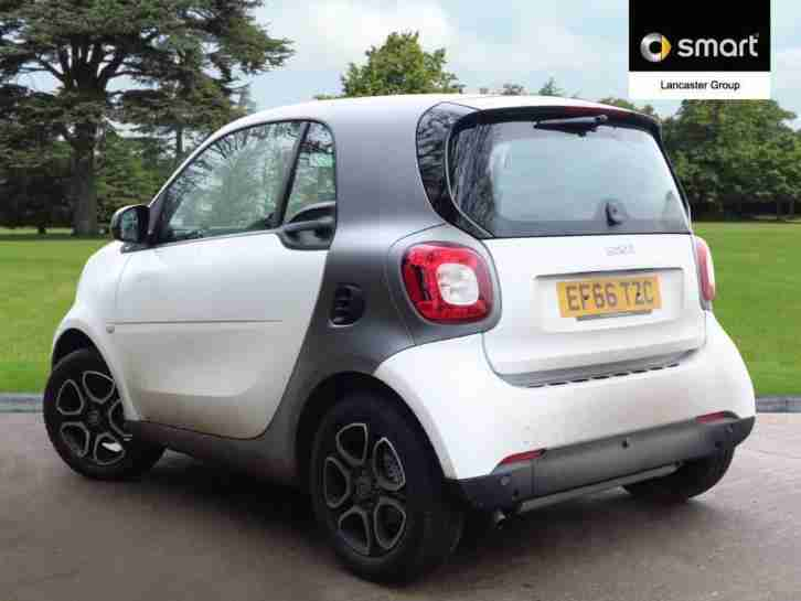 2016 smart fortwo coupe 0.9 Turbo Prime Premium 2dr Auto Petrol white Automatic