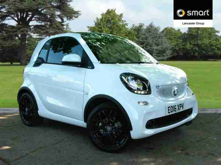 smart 2016 fortwo coupe edition white t petrol white automatic car for sale. Black Bedroom Furniture Sets. Home Design Ideas
