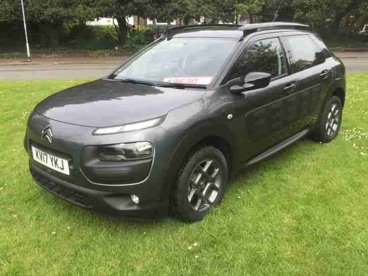 2017 17 CITROEN C4 CACTUS PURETECH FEEL S GREY ONLY 750 MILES DAMAGED SALVAGE