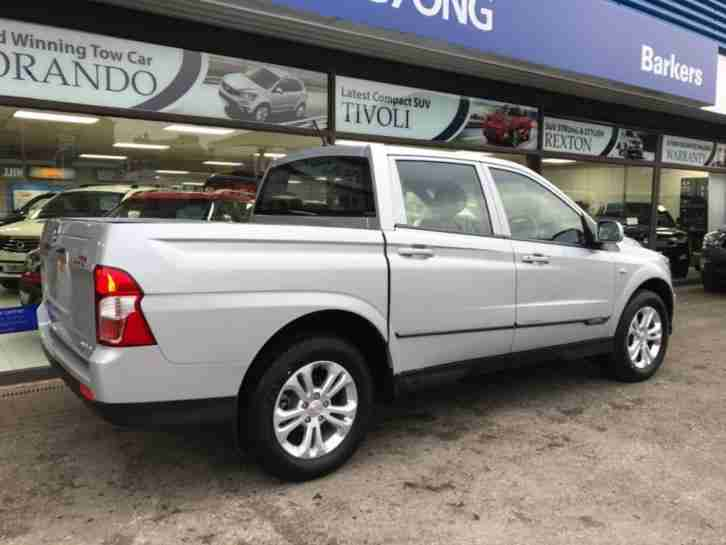 2017 17 SSANGYONG KORANDO SPORTS 2.0TD SE PICK UP 153BHP DIESEL