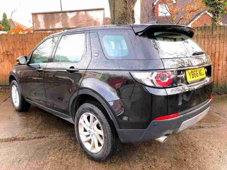 2017 66 LAND ROVER DISCOVERY SPORTS 2.0TDi
