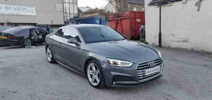 2017 67 AUDI A5 2.0 TDI S LINE QUATTRO ULTRA S A UNRECORDED DAMAGED SALVAGE