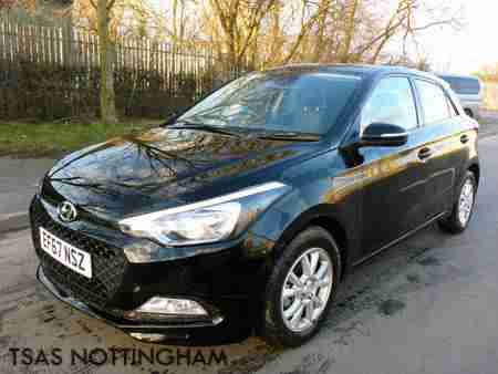 2017 67 i20 SE 1.2 84 Black Damaged