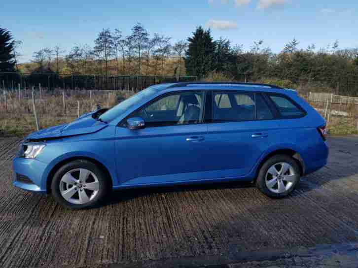 2017, 67 REG SKODA FABIA 1.2 TSI SE ESTATE, DAMAGED REPAIRABLE SALVAGE