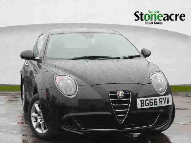 2017 Alfa Romeo MiTo 1.4 MultiAir Progression Hatchback 3dr Petrol Manual (s s)