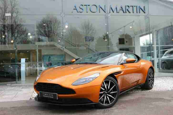 2017 N A DB11 V12 Coupe, CEO