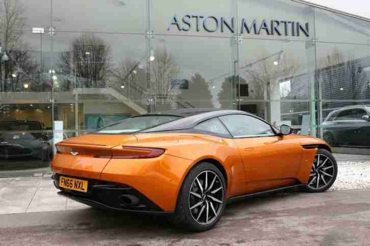 2017 Aston Martin N/A DB11 V12 Coupe, CEO Edition N/A gold Automatic