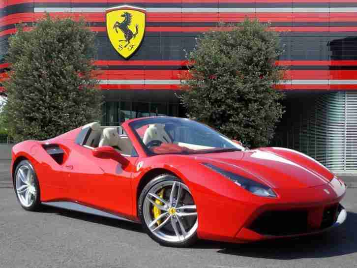 Ferrari 488. Ferrari car from United Kingdom