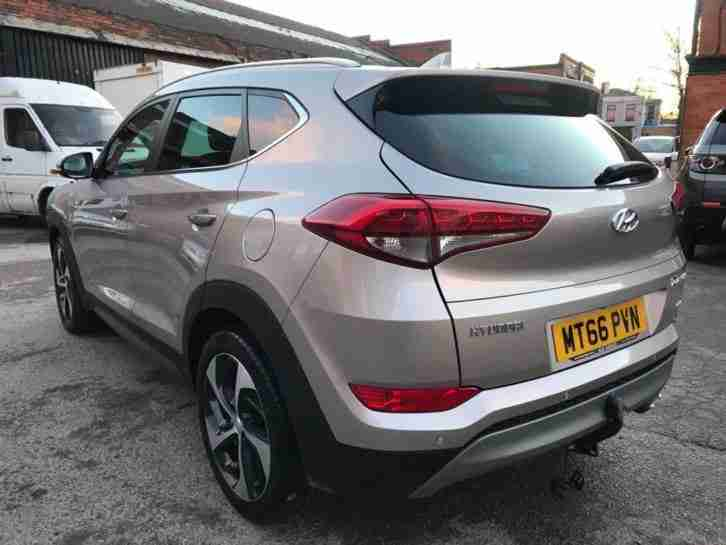 2017 HYUNDAI TUCSON PREMIUM 2.0 CRDI 4x4 AUTO Salvage Damaged CAT N