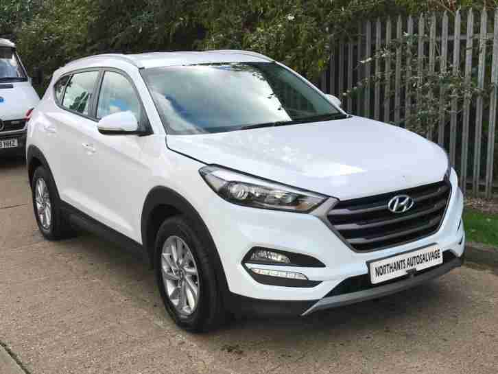 2017 Hyundai Tucson 1.7 CRDi DCT SE Nav UNRECORDED DAMAGED REPAIRABLE SALVAGE