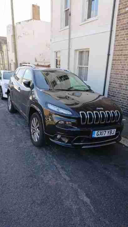 2017 JEEP Cherokee 2.2 overland activedrive mjet ll diesel 5dr automatic