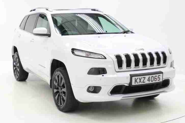 2017 Jeep Cherokee 2.2 Multijet 200 Overland 5dr Auto Diesel white Automatic