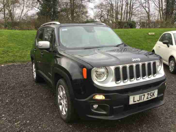 2017 Jeep Renegade 1.4T MultiAirII Limited (s