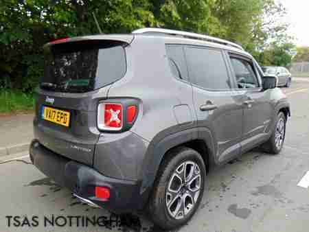 2017 Jeep Renegade Limited Auto 1.4 MultiAir II 140 Bhp DDCT Damaged Salvage