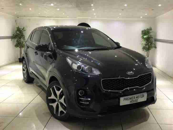2017 KIA SPORTAGE 1 1.7 CRDI ISG DIESEL BLACK LOW MILEAGE TOP SPEC £30 ROAD TAX
