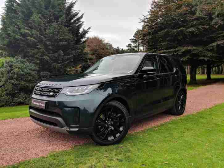 2017 Land Rover Discovery SD4 HSE 7 Seat Black Pack, Sunroofs, Adaptive Cruise C