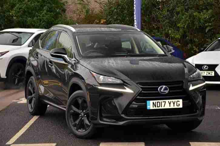 2017 NX 2.5 Sport PETROL ELECTRIC black