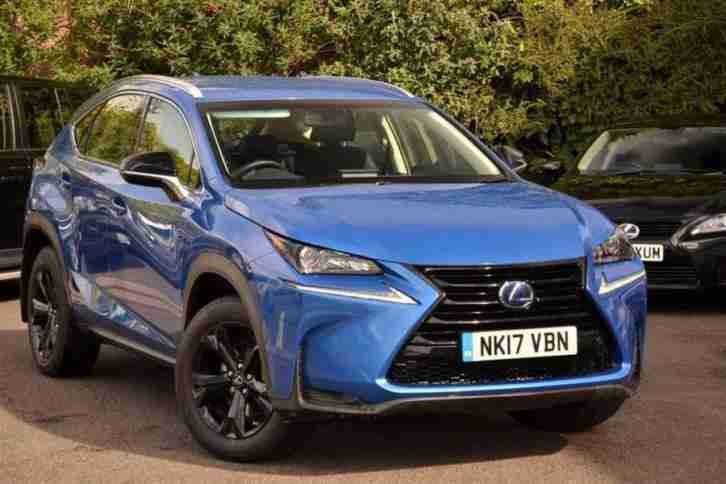 2017 NX 2.5 Sport PETROL ELECTRIC blue