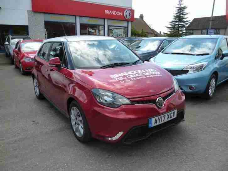 2017 MG MG 3 3 Form Sport Vti Tech