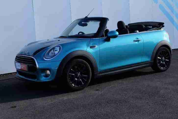2017 MINI Convertible 1.5 Cooper D (Chili) 2dr (start stop)