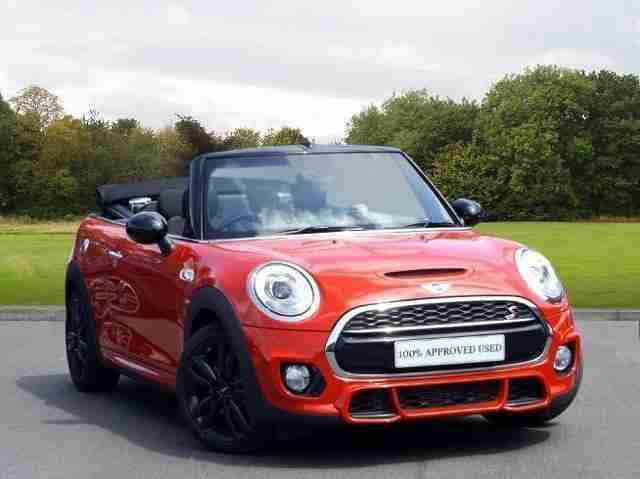 2017 MINI Mini MINI Cooper S Works 210 Convertible Petrol red Manual