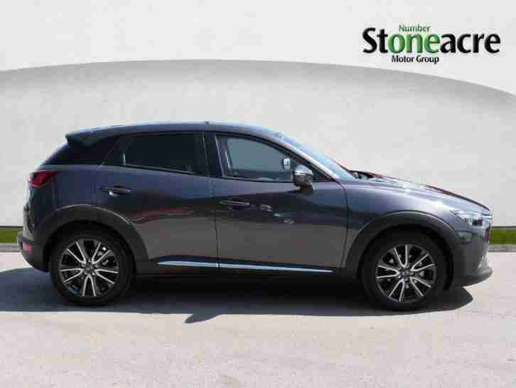 mazda 2017 cx 3 1 5 sport nav hatchback 5dr diesel manual 123 g km. Black Bedroom Furniture Sets. Home Design Ideas