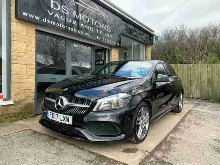 2017 Mercedes Benz A Class A200d AMG Line Executive 5dr HATCHBACK Diesel Manual