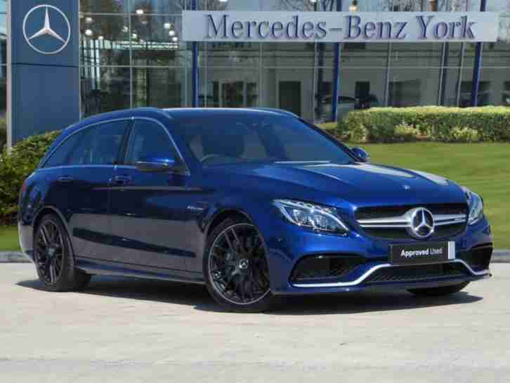 2017 Mercedes Benz C Class AMG C 63 PREMIUM Automatic Estate