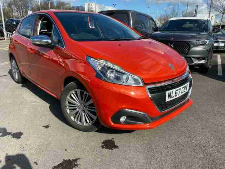 Peugeot 208. Kia car from United Kingdom