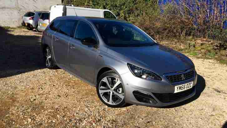 Peugeot 308. Other car from United Kingdom