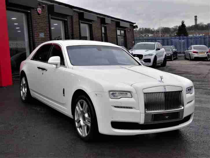2017 Rolls Royce Ghost 6.6 ( 563bhp ) Auto 5 YEAR SERVICE PACK 4 YEAR WARRANTY
