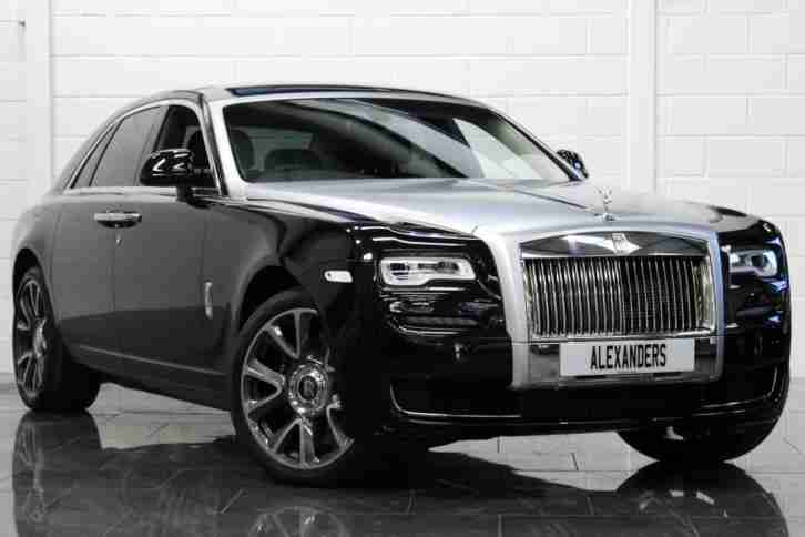 2017 Rolls Royce Ghost Series II 6.6 V12 Auto [VAT Qualifying] Petrol black Auto