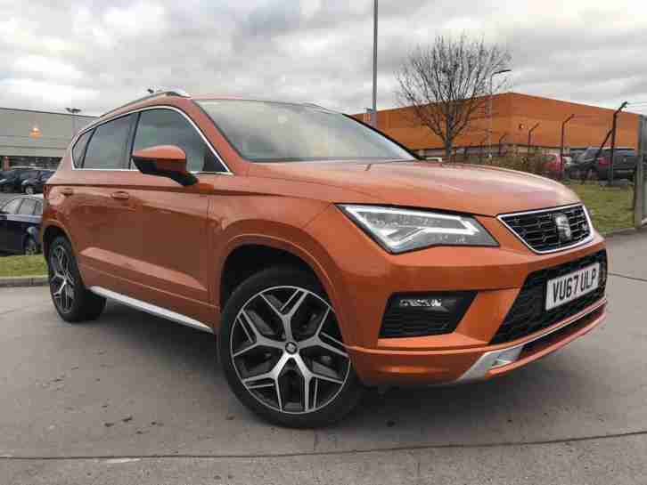 seat 2017 ateca ateca fr 2 0 tsi dsg auto 4 drive 190ps 7 speed 19. Black Bedroom Furniture Sets. Home Design Ideas