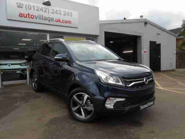 2017 SsangYong Korando 2.2 ELX 4x4 5dr 17MY ALL NEW 5 door Estate